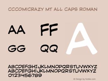CCComicrazy MT All Caps