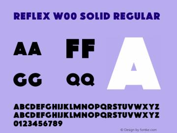 Reflex W00 Solid