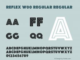 Reflex W00 Regular