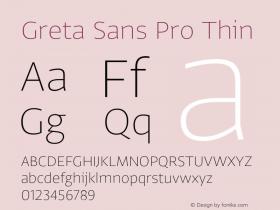 Greta Sans Pro