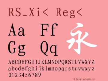 RS_Xi<