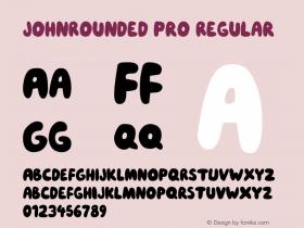 JohnRounded Pro
