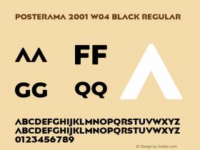 Posterama 2001 W04 Black