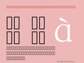 STSongStd-Light-Acro-Alphabetic