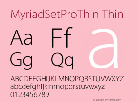 MyriadSetProThin