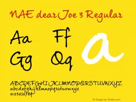 NAE dearJoe 3