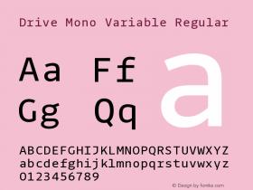 Drive Mono Variable