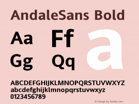 AndaleSans