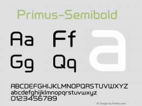 ☞Primus-Semibold