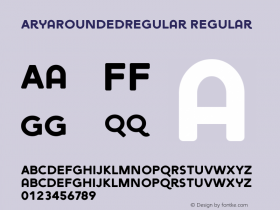 AryaRoundedRegular