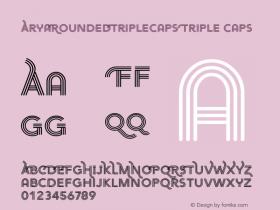 AryaRoundedTripleCaps