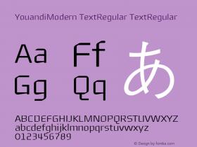 YouandiModern TextRegular