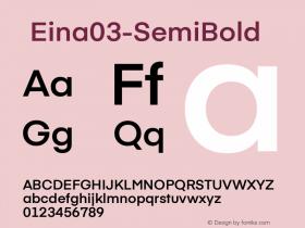 ☞Eina03-SemiBold