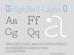 ☞HighBall-Light