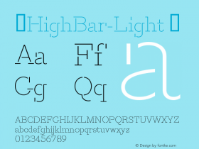 ☞HighBar-Light