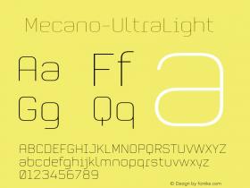 ☞Mecano-UltraLight