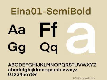 ☞Eina01-SemiBold