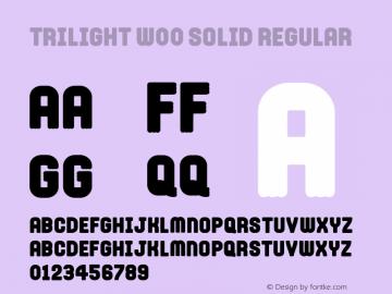 Trilight W00 Solid