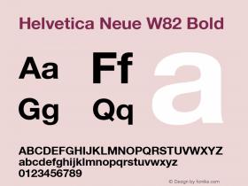 Helvetica Neue W82