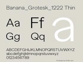 Banana_Grotesk_1222
