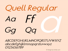 Quell Regular