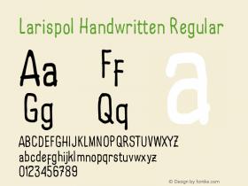Larispol Handwritten