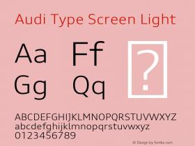 Audi Type Screen