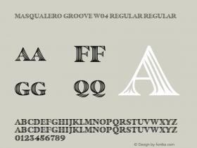 Masqualero Groove W04 Regular