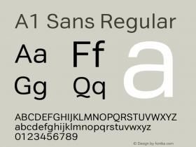 A1 Sans