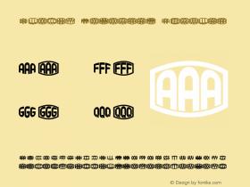Blocky Monogram