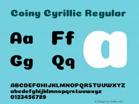 Coiny Cyrillic