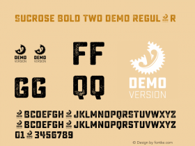 Sucrose Bold Two DEMO