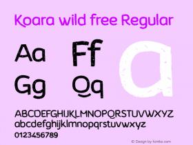 Koara wild free