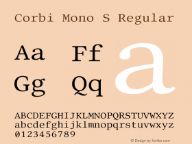 Corbi Mono S