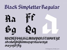 Black Simpletter