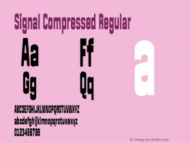 Signal Compressed