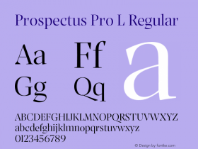 Prospectus Pro L