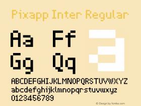 Pixapp Inter