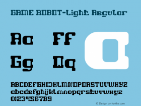 GAME ROBOT-Light