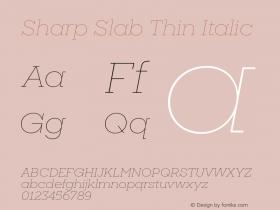 Sharp Slab