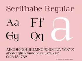 Serifbabe