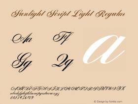 Sunlight Script Light
