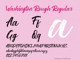 Washington Rough