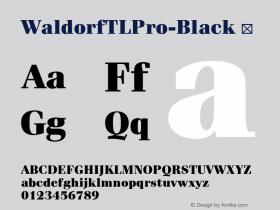 WaldorfTLPro-Black