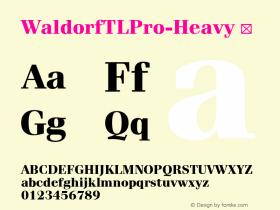 WaldorfTLPro-Heavy
