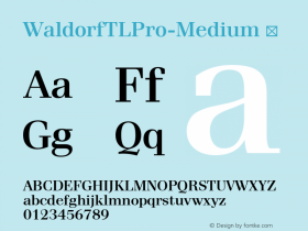 WaldorfTLPro-Medium