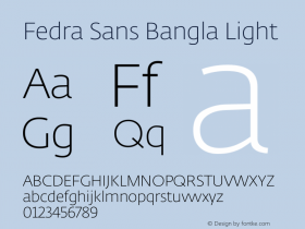 Fedra Sans Bangla