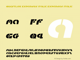 Questlok Expanded Italic
