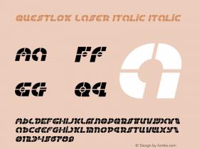 Questlok Laser Italic