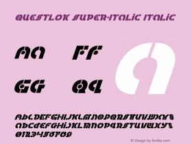 Questlok Super-Italic